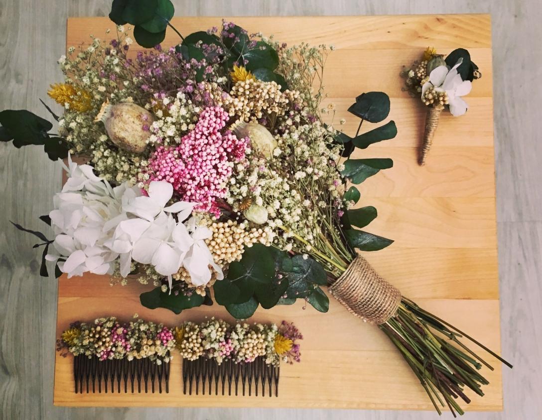 Ramos Con Flores Preservadas Amanda L Pez Decoraciones ~ Ramos De Novia Flores Preservadas